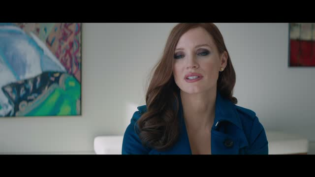 Molly's Game Official Trailer