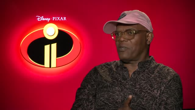 Incredibles 2 Interview: Samuel L. Jackson, Bob Odenkick, and Catherine Keener