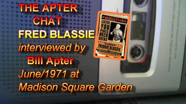 Wrestlezone image Fred Blassie on The Apter Chat, June 1971